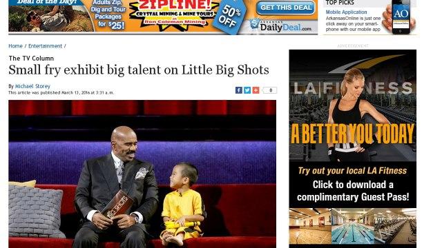 [Newsa] The TV Column Small fry exhibit big talent on Little Big Shots