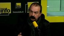 """Loi Travail : Philippe Martinez (CGT)  veut """"reprendre tout à zéro"""""""