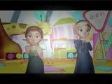 Frozen Elsa And Anna Little Miss Muffet Nursery Rhymes for Children   Frozen Little Miss M
