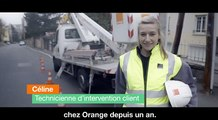 Céline, technicienne d'intervention