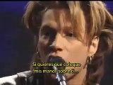 Bon Jovi - Lay your hands on me subtitulos castellano