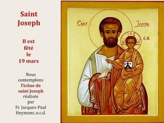 11. Prier avec l'icône de Saint Joseph
