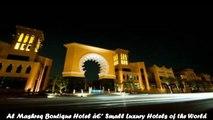 Hotels in Riyadh Al Mashreq Boutique Hotel Small Luxury Hotels of the World Saudi Arabia