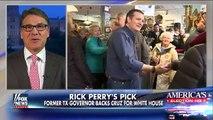 Gov. Rick Perry endorses Ted Cruz for president