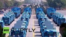 Parade militaire pour fêter le 70e anniversaire de la victoire chinoise lors de la Seconde Guerre mondiale
