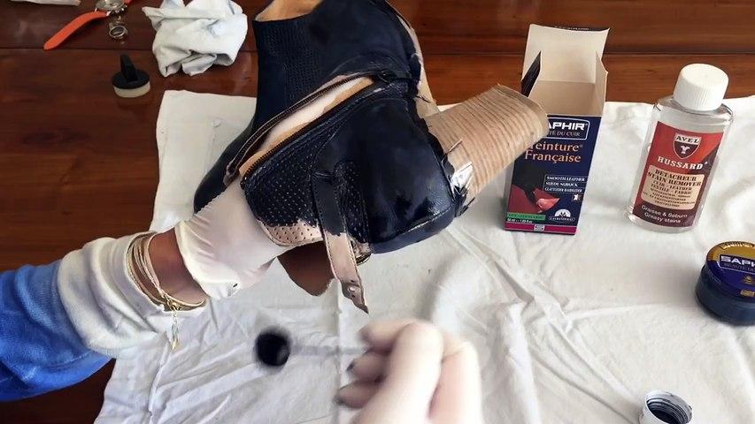 Changer la Couleur de Chaussures en Cuir Lisse - VALMOUR