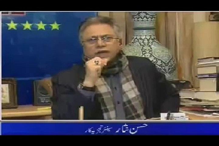 Hassan Nisar Interview 13 February 2016 Pakistani Talk Show