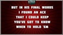 The Gambler - Kenny Rogers tribute - Lyrics