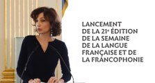 Lancement de la Semaine de la Langue française et de la Francophonie, édition 2016
