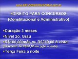 Estudando Eu Passo - Turmas de Concurso Público 2011