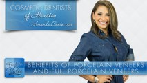 Benefits of Porcelain Veneers and Full Porcelain Crowns - Cosmetic Dentists of Houston