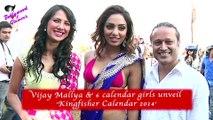 Vijay Mallya & 6 calendar girls unveil 'Kingfisher Calendar 2014'