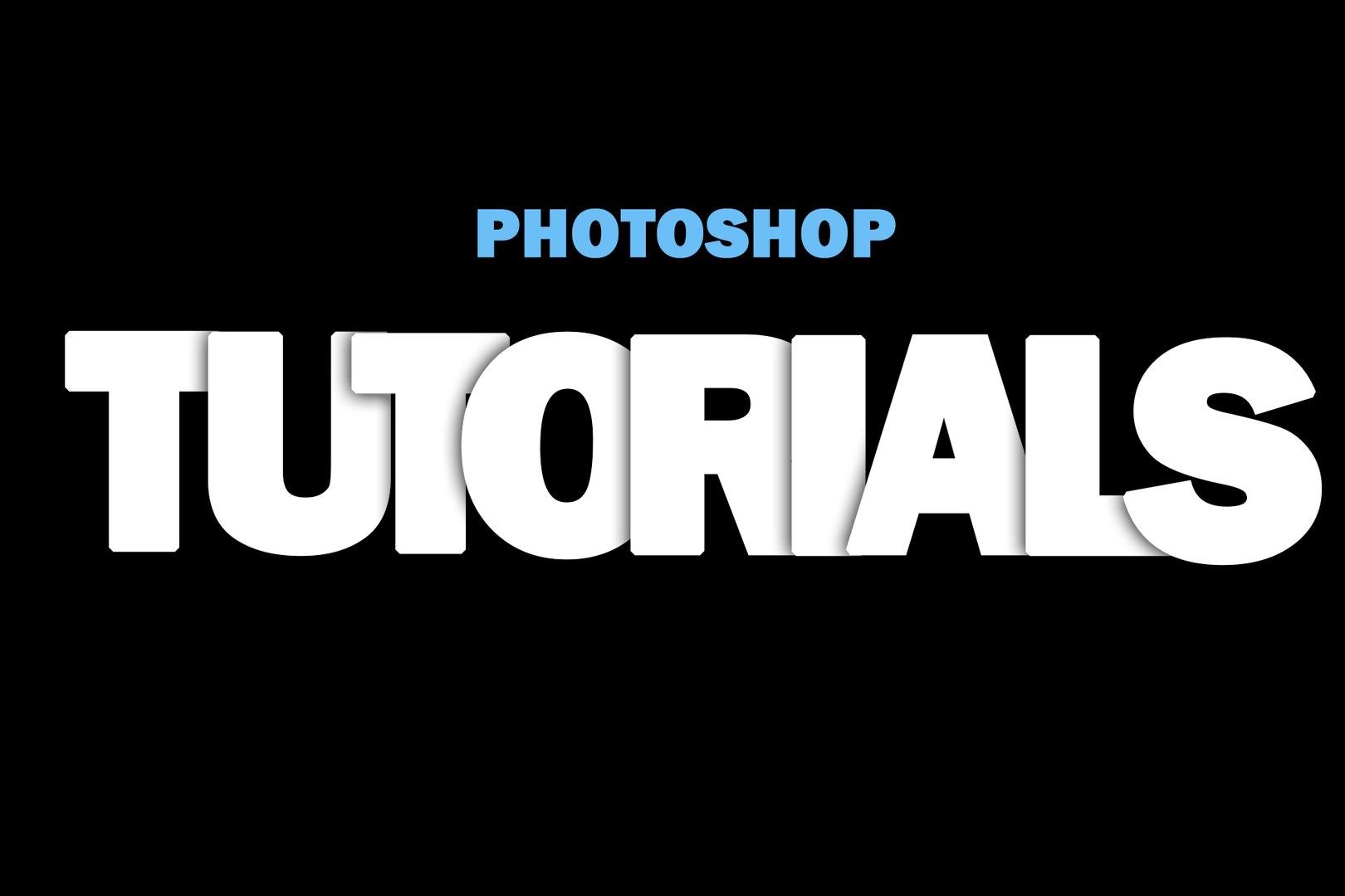 Photoshop tutorials   Text design