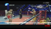 Yi Long Vs Muay Thai, World Kung Fu King Ultimate, 08 August 2015