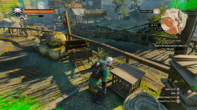 THE WITCHER 3 WALKTHROUGH PART 130 - THE PLAY'S THE THING