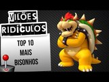 TOP 10 VILÕES MAIS TOSCOS DOS VIDEOGAMES   Ei Nerd