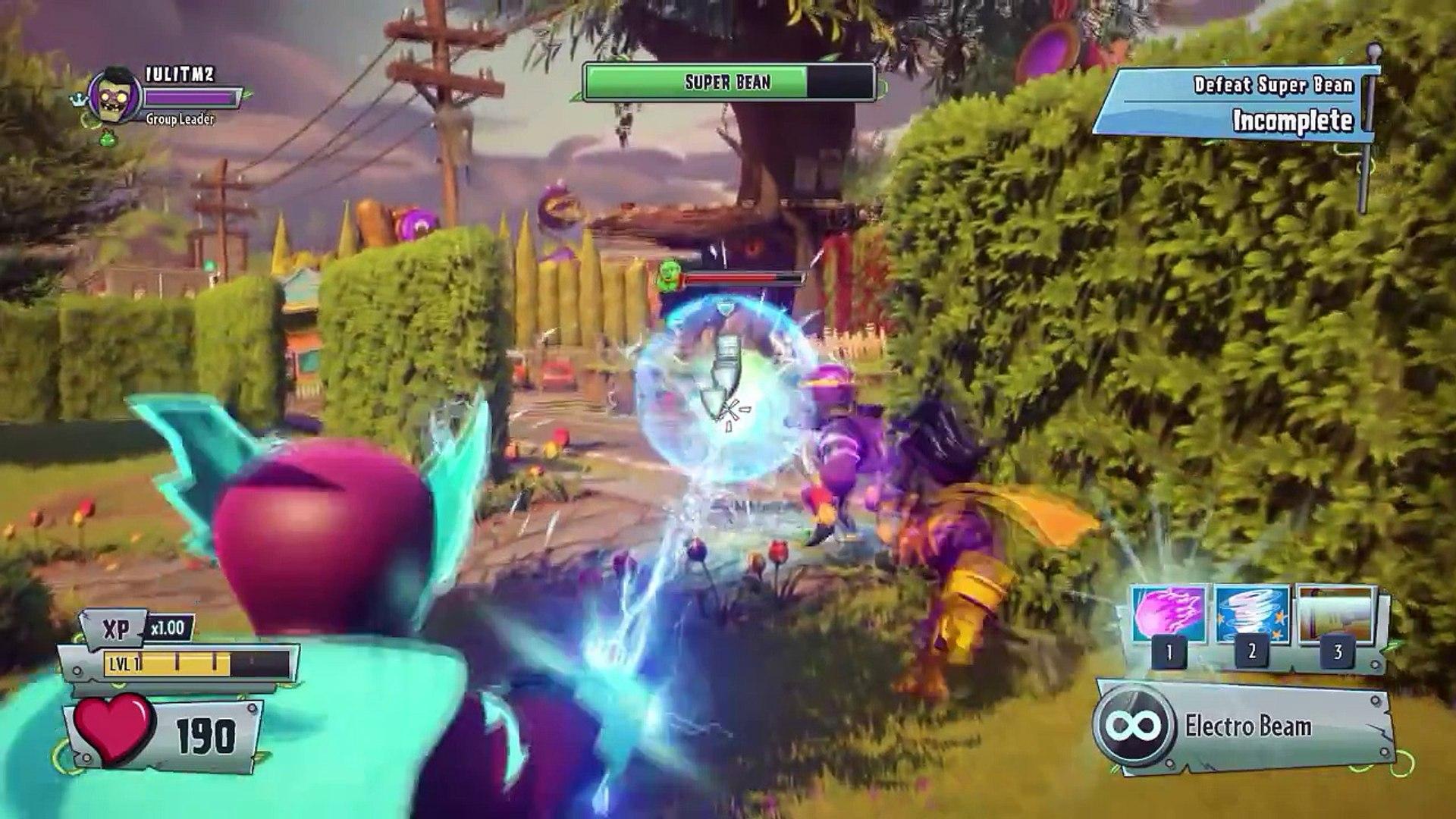 Plants vs  Zombies Garden Warfare 2 Super Bean Final Boss Fight