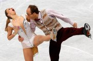 Olympics Ice skaters who look like they are having