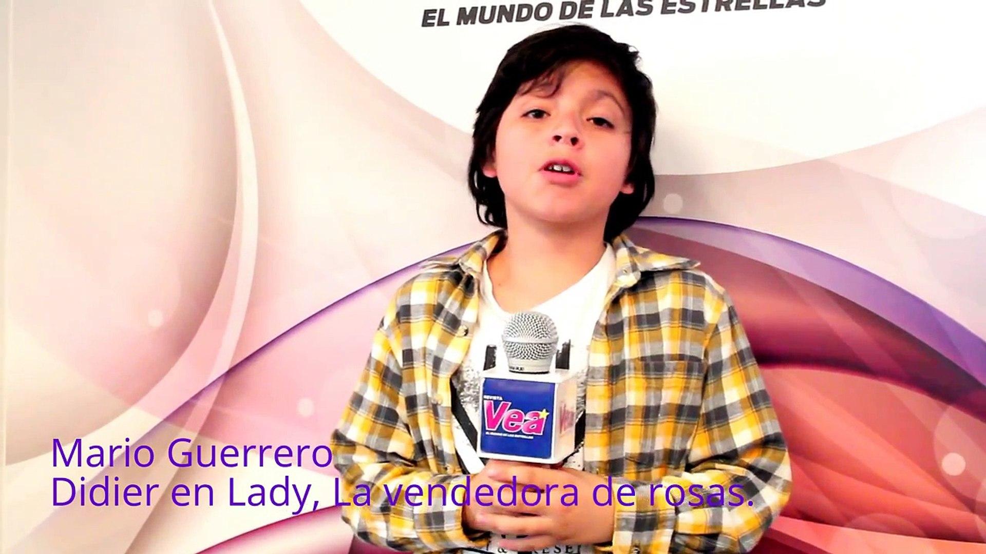 Los pequeños actores de Lady, La vendedora de rosas en la Revista VEA