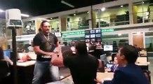 Konan Big y Cibernetico, pelean en oficinas de Grupo Multimedios