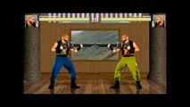 MUGEN - Kung Fun Man v2 and Truck Davis v2 beta stages