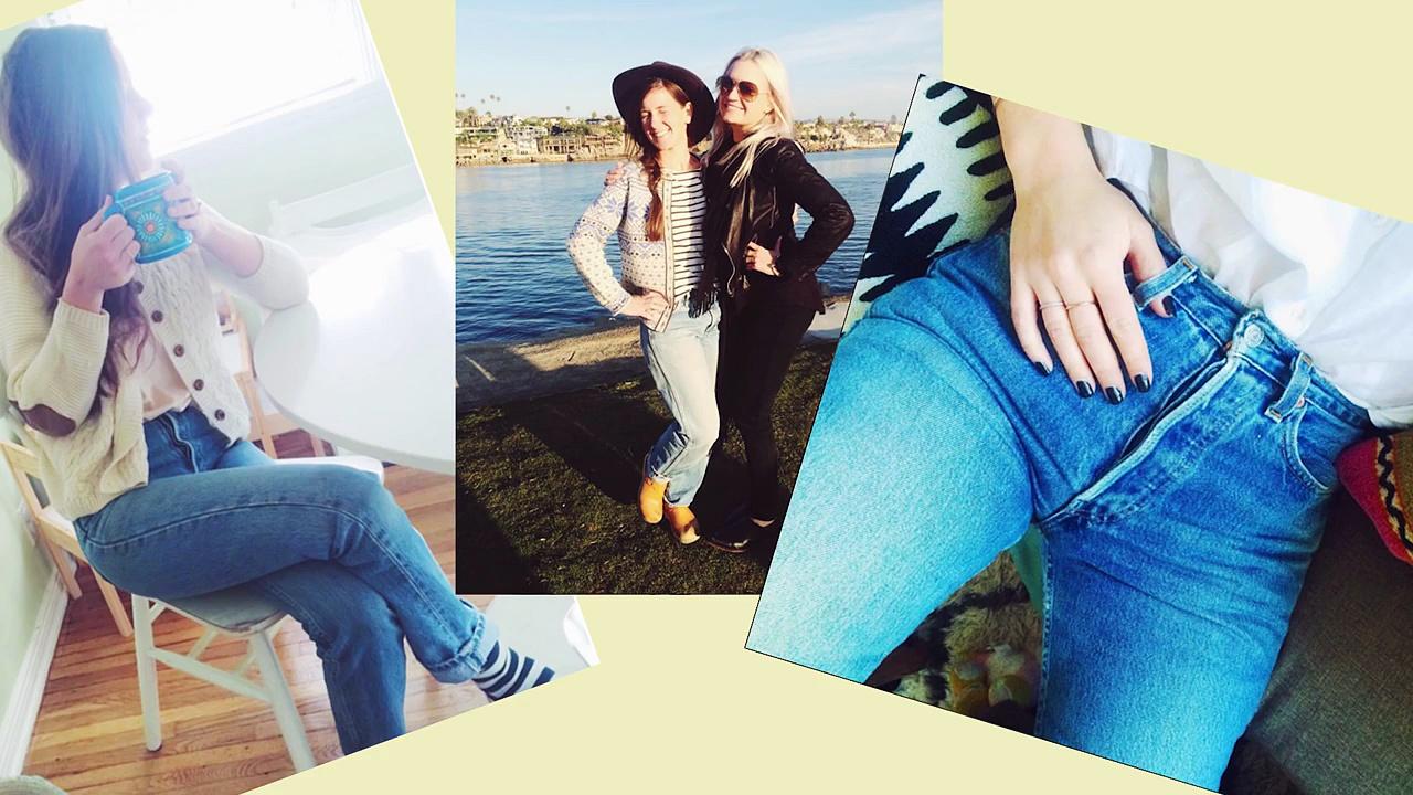 Women Wear Mom Jeans For A Week • Ladylike. http://bit.ly/2zwnQ1x