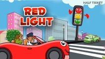 Red Light Red Light What Do You Say? | Nursery Rhymes For Children