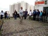 Danças festivas dos índios da Aldeia Maracanã.