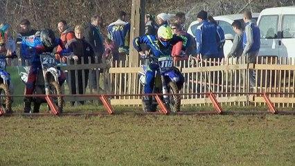Moto-cross Picardie : Jean-Baptiste Castel au départ à Blargies