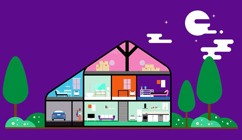 Homelive: manage your home via your mobile phone