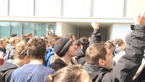 Les lycéens envahissent le lycée Dupuy de Lôme