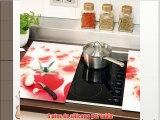 Zeller 26270 - Tabla para cortar de cristal 2 unidades 52 x 30 centímetros diseño de tomates