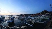 Coron Palawan Philippines Jan  2014 Time Lapse