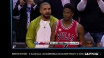 Toronto Raptors - Chicago Bulls: Drake déstabilise les joueurs pendant le match (Vidéo)