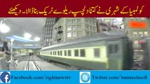 Columbia Citizen Made 3 thousand sq ft Interested Railway Track Model