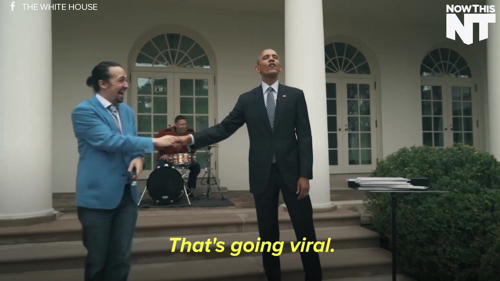 Star Of Broadway's Hamilton Freestyles With President Obama At The White House