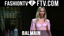 Balmain at Paris Fashion Week F/W 16-17 ft. Gigi Hadid, Kendall Jenner & Karlie Kloss   FTV.com
