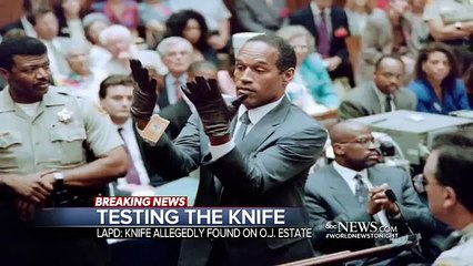 Knife Found Buried in OJ Simpsons Former Estate