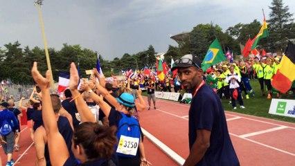 Cérémonie d'ouverture des Championnats du Monde d'Athlétisme Masters Lyon 2015