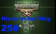 Panzer Corps- Allied Corps Battle of the Bulge 26 Dezember 1944 #25 Historischer Weg