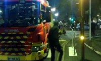 Vandoeuvre-lès-Nancy : feu de voiture dans un parking souterrain