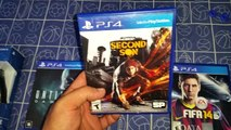 Compras para Playstation 4 (Aquisições PS4) - FIFA, Infamous e Until Dawn - GameplaydoBoy