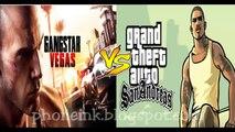 Graphics Comparison : GTA San Andreas VS Gangstar Vegas 2015 HD Gameplay