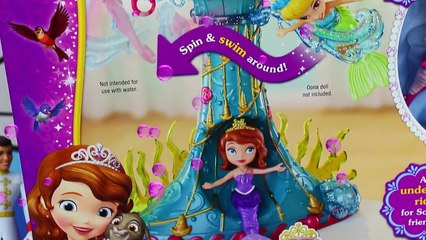 Mermaids Underwater Sea Swimming Toy Disney Princess Sofia The First & Ariel Little Mermai