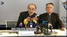 """Mgr Barbarin sur la seconde affaire de pédophilie : """"Ça n'est pas une affaire de pédophilie"""""""