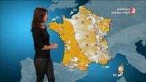 La météo de Tania Young sur France 2 - 14-03-2016 soir