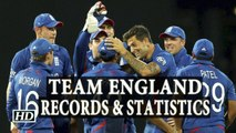 T20 World Cup England Cricket Team Records and Statistics