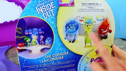NEW INSIDE OUT TOYS From The Disney Pixar Summer Movie + Console & Joy, Sadness, Anger