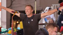 Chris Martin and Coldplay Perform on 'Today' Show - Watch