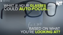 Glasses Auto-Focus Based On What You Look At